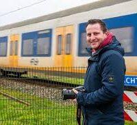 Hoe een foto van een treinongeluk Zwammerdam 'wereldberoemd' maakte