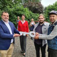 Spoorlaan-Zone overgedragen voor nieuwbouwwoningen in Zwammerdam